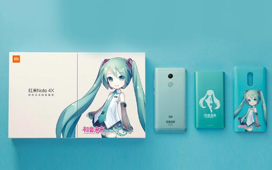 Redmi Note 4 Hatsune Miku Limited Edition (1)