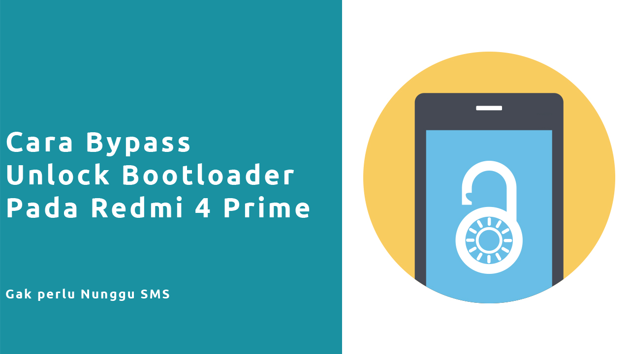 Pasang TWRP Redmi 4 Prime Tanpa Unlock Bootloader Official