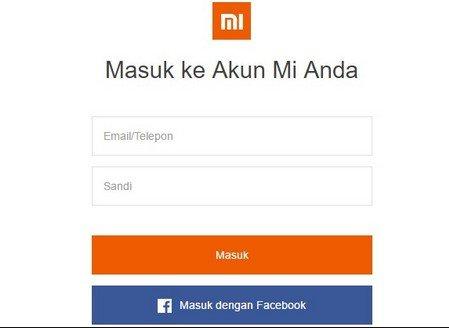 Cara Reset Akun Mi Yang Lupa Password Panduan Xiaomi